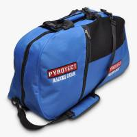 Safety Equipment - Gear & Helmet Bags - Pyrotect - Pyrotect 3-Compartment Equipment Bag - Blue