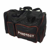 Safety Equipment - Gear & Helmet Bags - Pyrotect - Pyrotect 6-Compartment Equipment Bag - Black