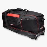 Safety Equipment - Gear & Helmet Bags - Pyrotect - Pyrotect 9-Compartment Rolling Equipment Bag - Red/Black
