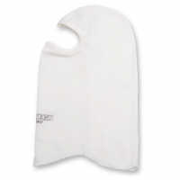 Helmet Accessories - Balaclavas, Head Socks - Pyrotect - Pyrotect Sport Head Sock - 1 Layer - Single Eyeport - White