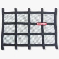 """Ribbon Window Nets - 18"""" x 24"""" Ribbon Window Nets - Pyrotect - Pyrotect Window Net - 24"""" x 18"""" - Black"""