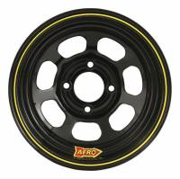 "Wheels and Tire Accessories - Aero Race Wheel - Aero 30 Series Roll Formed Wheel - Black - 13"" x 8"" - 3"" Offset - 4 x 4.25"" Bolt Circle - 16 lbs."