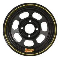 "Wheels and Tire Accessories - Aero Race Wheel - Aero 30 Series Roll Formed Wheel - Black - 13"" x 8"" - 3"" Offset - 4 x 4.50"" Bolt Circle - 16 lbs."