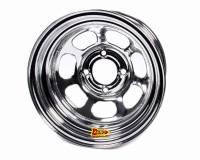 "Aero Race Wheel - Aero 30 Series Roll Formed Wheel - Chrome - 13"" x 7"" - 2"" Offset - 4 x 4.50"" Bolt Circle - 15 lbs."