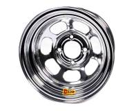 "Aero Race Wheel - Aero 30 Series Roll Formed Wheel - Chrome - 13"" x 8"" - 2"" Offset - 4 x 4.25"" Bolt Circle - 16 lbs."