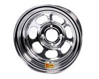 "Aero Race Wheel - Aero 30 Series Roll Formed Wheel - Chrome - 13"" x 8"" - 3"" Offset - 4 x 4.25"" Bolt Circle - 16 lbs."