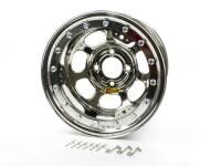 "Aero Wheels - Aero 33 Series Beadlock Wheels - Aero Race Wheel - Aero 33 Series Beadlock Rolled Wheel - Chrome - 13"" x 8"" - 2"" BS - 4 x 4.25"" - 21 lbs."