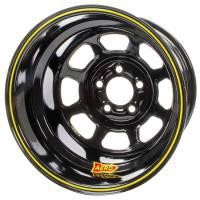 "Aero Wheels - Aero 51 Series Spun Wheels - Aero Race Wheel - Aero 51-Series Spun Formed Wheel - Black - 15"" x 10"" - 1"" Backspace - 5 x 4.75"" Bolt Pattern"