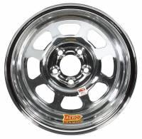 """Aero Wheels - Aero 52 Series IMCA Wheels - Aero Race Wheel - Aero 52 Series IMCA Rolled Wheel - Chrome - 15"""" x 8"""" - 5 x 4.75"""" - 2"""" BS - 19 lbs."""