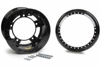 "Aero Wheels - Aero 53 Series Rolled Beadlock Wheels - Aero Race Wheel - Aero 53 Series Rolled Beadlock Wheel - Black - 15"" x 10"" - 2"" Back Spacing - Wide 5 - 24 lbs."