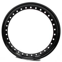 "Wheels and Tire Accessories - Aero Race Wheel - Aero 15"" Black Outer Beadlock Ring"