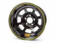 "Aero 56 Series Extreme Bead Spun Racing Wheel - Black - 15"" x 8"" - 3"" BS - 5 x 4.75"" - 18 lbs."