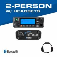 Rugged Radios - Rugged Radios 2-Person - 696 Complete Communication System - with Ultimate Headsets