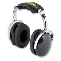 Safety Equipment - Rugged Radios - Rugged Radios H20 Over the Head (OTH) Hearing Protection Earmuffs Headset - Black