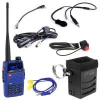 Radios,Transponders & Scanners - Radio Communication Systems - Rugged Radios - Rugged Radios The Driver - IMSA 4C Racing Kit with Rugged V3 Handheld Radio