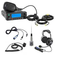 Radios, Transponders & Scanners - Radio Communication Systems - Rugged Radios - Rugged Radios Single Seat Kit with Digital Mobile Radio & H22 Over the Head Ultimate Headset