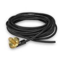 """Rugged Radios - Rugged Radios 17' Ft. Antenna Coax Cable with 3/8"""" NMO (TM) Thick Mount"""