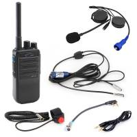 Radios, Transponders & Scanners - Radio Communication Systems - Rugged Radios - Rugged Radios Single Seat Offroad Kit With Digital Handheld Radio (UHF)