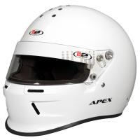 Safety Equipment - B2 Helmets - B2 ApexHelmet - White - Medium
