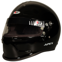 Safety Equipment - B2 Helmets - B2 Apex Helmet - Metallic Black - X-Large
