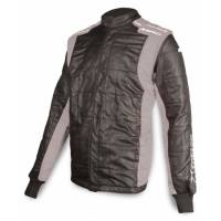 Racing Suits - Drag Racing Suits - Impact - Impact Racer2020 Jacket (Only) - X-Large - Black/Gray