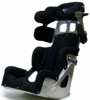 """Ultra Shield Race Products - Ultra Shield 15"""" FC2 Late Model Seat - Black Cover"""