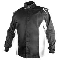 K1 RaceGear - K1 RaceGear Challenger Jacket - Black, White - 3XS 36