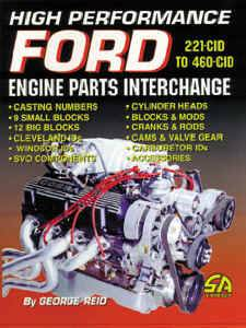Ford Engine Books