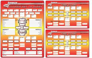 Tools & Pit Equipment - Chassis Set-Up Tools - Setup Sheets & Checklist