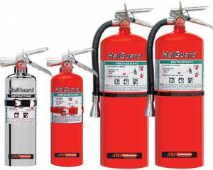 Safety Equipment - Fire Extinguishers - Hand Held Fire Extinguishers