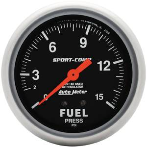 Gauges & Dash Panels - Gauges - Fuel Pressure Gauges