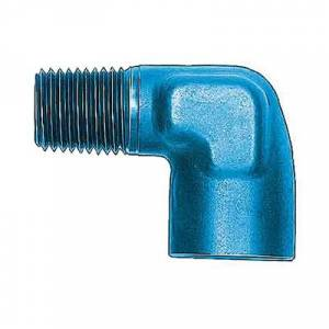Fittings & Hoses - Pipe Thread to Pipe Thread Adapters - 90° Internal / External Pipe Thread Adapters