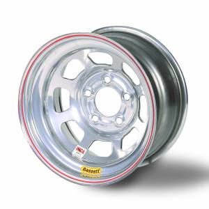 "Bassett Wheels - Bassett IMCA D-Hole Wheels - Bassett IMCA D-Hole 15"" x 8"""