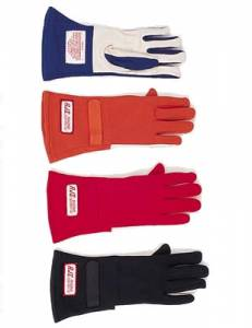 Racing Gloves - SFI 1 Rated Gloves - RJS Single Layer Gloves