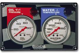 Gauges & Dash Panels - Dash Gauge Panels - 2 Gauge Dash Panels