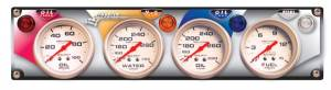 Gauges & Dash Panels - Dash Gauge Panels - 4 Gauge Dash Panels