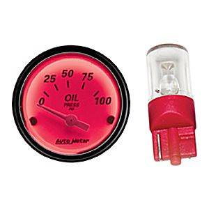 Gauges and Dash Panels - Gauge Parts & Accessories - Gauge Light Bulbs & Covers