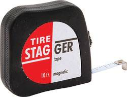 Tire Stagger Tapes