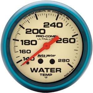 Sprint Car Parts - Gauges & Gauge Panels - Water Temperature Gauges