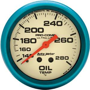 Sprint Car Parts - Gauges & Gauge Panels - Oil Temperature Gauges