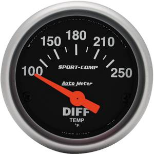 Gauges & Dash Panels - Gauges - Differential Temp Gauges