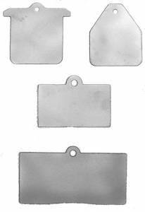 Sprint Car Parts - Brake Components - Brake Caliper Heat Shields