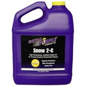 Oils, Fluids and Additives - Two-Stroke Oil - Royal Purple Snow 2-C Snowmobile Oil