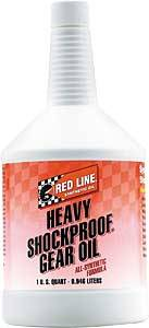 Oil, Fluids & Chemicals - Gear Oil - Red Line ShockProof Gear Oil