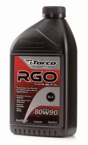 Oils, Fluids and Additives - Gear Oil - Torco RGO 80W-90 Racing Gear Oil