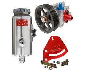 Steering Components - Power Steering Kits - Aluminum Power Steering Kits