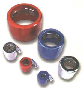 Hose & Fitting Accessories - Hose Clamp - Earl's Econo-Fit Hose Clamps