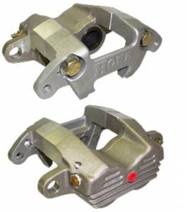 Disc Brake Calipers - Howe Brake Calipers - Howe Aluminum GM Double Piston Brake Calipers