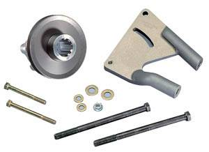 Power Steering Pumps - Power Steering Pump Mounts - Rear End Mount Brackets
