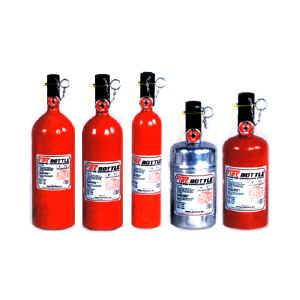 Fire Extinguishers - Fire System Parts & Accessories - Fire Extinguisher Bottles